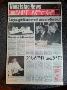 Nunatsiaq News from 1993.
