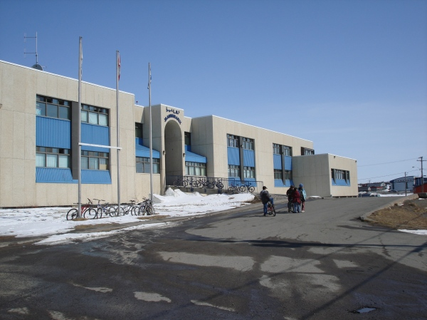 Jaanimmarik School in Kuujjuaq. (PHOTO BY JANE GEORGE)