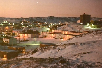 The way Iqaluit looked when I first arrived there. (PHOTO/ FACEBOOK)
