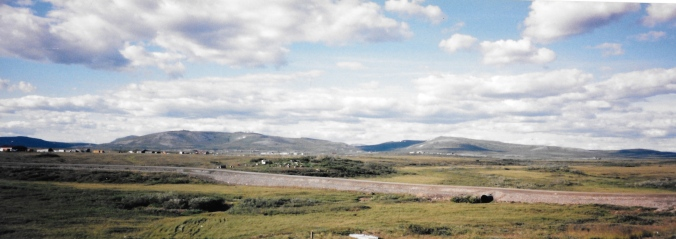 Outside Nome, Alaska in July, 1995. (PHOTO BY JANE GEORGE)