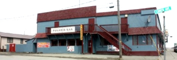 The Polaris Bar in Nome, Alaska, as shown on the website of the Polaris Hotel