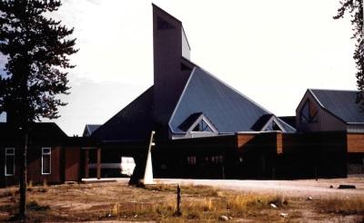 The Cree Regional Authority building in Nemaska. (PHOTO BY JANE GEORGE)