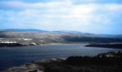 The Great Whale river in 1994. (PHOTO BY JANE GEORGE)