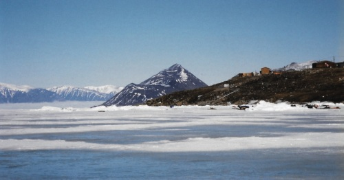 On a clear day you can see Mt. Herodier from Pond Inlet. (PHOTO BY JANE GEORGE)