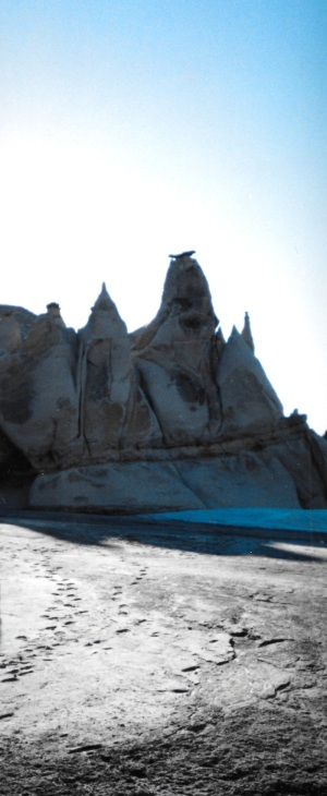In the hoodoos of Bylot Island, I see many shapes, forms. (PHOTO BY JANE GEORGE)