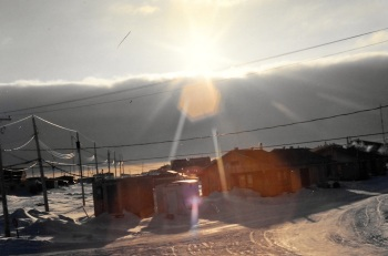 Street view, Puvirnituq, 1992