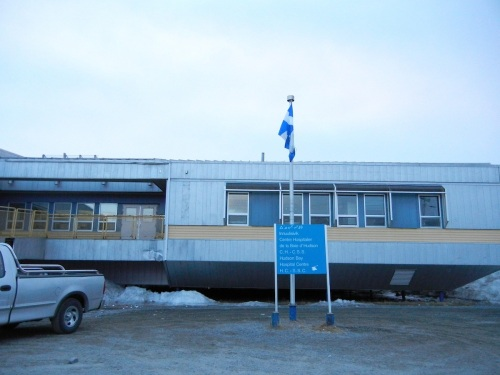 Inuulitsivik hospital, Puvirnituq. (PHOTO BY JANE GEORGE)