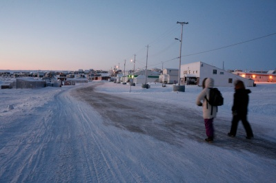 Igloolik as the sun returns. (PHOTO/ WIKIPEDIA)