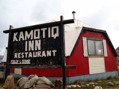 Iqaluit's Kamotiq Inn, now demolished. (PHOTO/NUNATSIAQ NEWS)