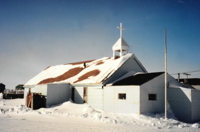 Anglican church, Akulivik. (PHOTO BY JANE GEORGE)