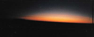 The sun still doesn't rise above the horizon in mid-January, 1997, when I visit. (PHOTO BY JANE GEORGE)