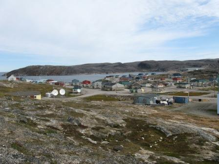 "Ivujivik, one of Nunavik's smallest communities, was home to a business called the ""Mushroom Shop."" (PHOTO/ WIKIPEDIA)"