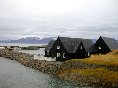 Immigration museum Hosfus, Iceland, (PHOTO BY JANE GEORGE)