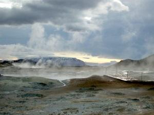 Geyser, Iceland. (PHOTO BY JANE GEORGE)