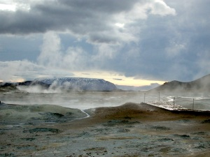 Geyser, Iceland. (PHOTO BY JANE GEORGE)
