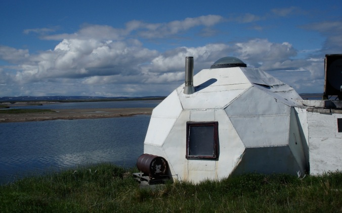 dome. Bathurst Inlet, NU. (PHOTO BY JANE GEORGE)