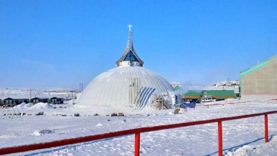 St. Jude's Anglican Cathedral in Iqaluit. (PHOTO BY JANE GEORGE)