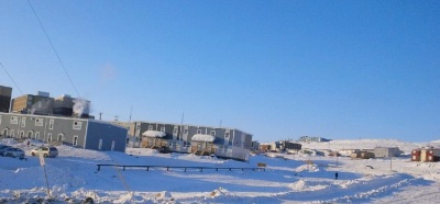 Creekside Village, Iqaluit, March 2015. (PHOTO BY JANE GEORGE)