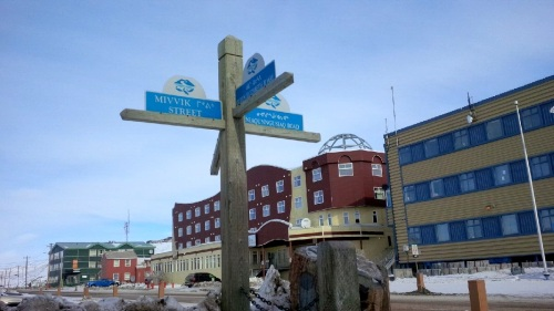 Here at the Four Corners intersection lies the red and mustard-coloured Hotel Arctic with its dome-ish decorated roof. (PHOTO BY JANE GEORGE)