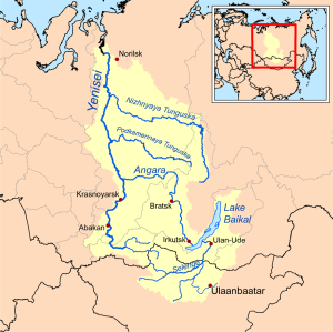 The area between the Yenisei River and Lake Baikal in central Siberia where early residents are thought to have spoken a common language that gave rise to Saami, Finnish and Inuit languages.